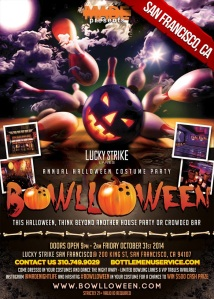 """Bowlloween 2014 San Francisco Halloween"""