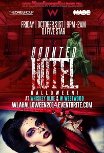 """Haunted Hotel Halloween at W Westwood Los Angeles"""