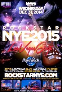 """""""Hard Rock Star Vegas NYE 2015"""""""
