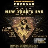 """NYE 2015 Emerson Theatre"""