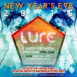 """Lure Hollywood Nightclub New Years"""