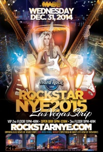 """Las Vegas Rockstar New Years Eve 2015"""
