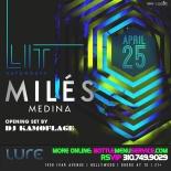Lure Nightclub Saturdays 2015 April 25th
