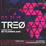 """Lure Hollywood LIT Saturdays DJ TREO"""