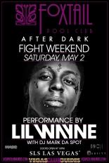 Lil Wayne Performing Fight Weekend 2015