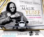 Supperclub LA Celebrates Malik Yusef Birthday