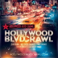 Hollywood Blvd Crawl Saturday LA Club Crawl