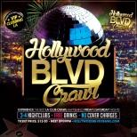 Friday and Saturday Hollywood Club Crawl