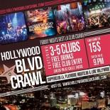 Friday Nights Best Hollywood Club Crawl