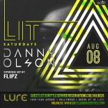 Lure Nightclub Saturday August 8th