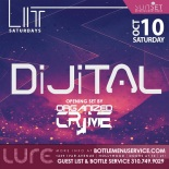Lure Hollywood Saturday October 10