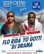 Vegas Memorial Weekend Saturday Event with Flo Rida