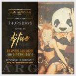 Argyle Nightclub Thursday June 16
