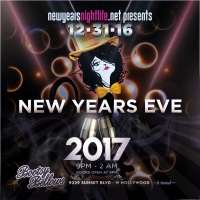 Bootsy Bellows NYE
