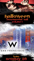 W Hotel SF Halloween International Ball
