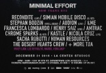Minimal Effort New Years 2017