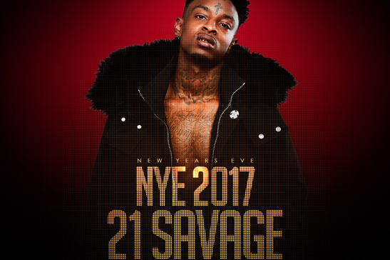 21 Savage 2017 New Years Lure Nightclub