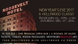 Hollywood Roosevelt NYE New Years Eve Event
