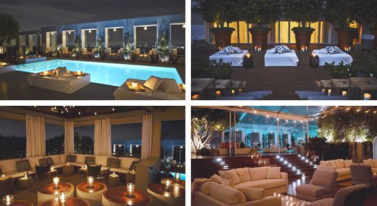 Skybar Los Angeles New Years Destination