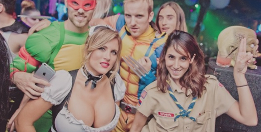 Lure Nightclub Halloween Night