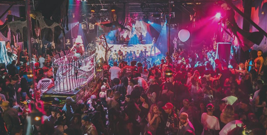 Playhouse Hollywood Halloween Night